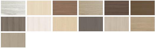 Các loại màu cửa nhựa Composite